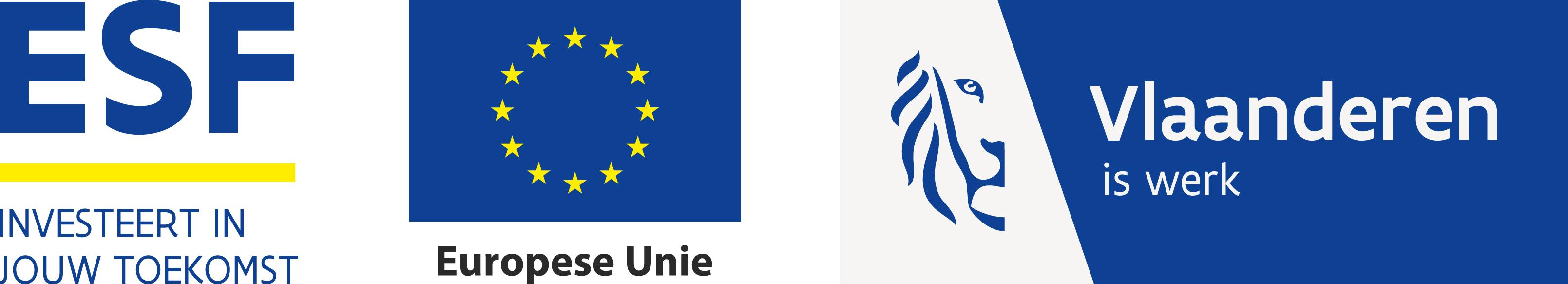 Europees Sociaal Fonds logo's